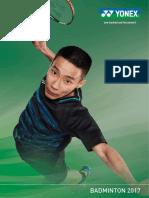2017 Badminton Catalogue