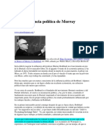 La Importancia Política de Murray Rothbard