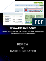 Review on Carbohydrates