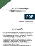 Oscilador Armónico Simple (Mecánica Cuántica)