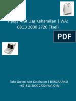 Harga Jual Alat USG 4 Dimensi | BERGARANSI +62 813 2000 2720 (WA Only)