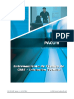 Entrenamiento de Técnico de GMS - Iniciación Técnica v1.0