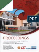 Proceedings  The 3rd International Language and Language Teaching Conference - LLTC 2016