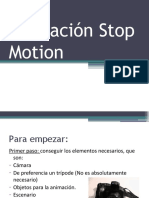 Presentacion Stop Motion