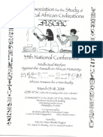 ASCAC Conference Program Schedule 2018