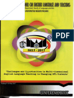 International Seminar On English And Teaching - 2017