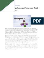 motivator untuk perusahaan, Motivator tv, motivator top indonesia.docx