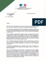 HC réponse à lettre ouverte N98