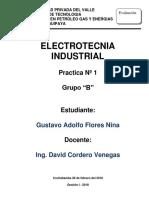 Caratula Practicas - Electrotecnia Industrial