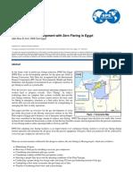 2013_Green Gas Field Development With Zero Flaring in Egypt
