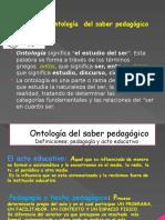 Ontología Del Saber