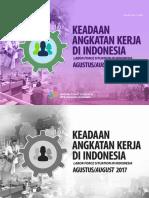 Keadaan Angkatan Kerja Di Indonesia Agustus 2017