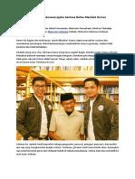 Motivator Indonesia Ippho Santosa Bahas Manfaat Humor