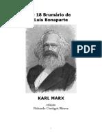MARX, Karl. O 18 Brumário de Luis Bonaparte