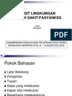 AUDIT LINGKUNGAN PERSI AGUSTUS 16.ppt