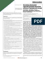 ( Nishikawa Et Al. 2000)Normalizing Mitochondrial Superoxide Production Blocks Three Pathways of Hyperglycaemic Damage
