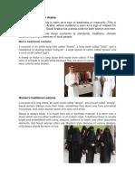 Dress Code of Saudi Arabia