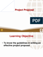 7 the Project Proposal
