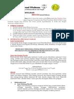 Pedoman Penulisan Jurnal Hukum RESAM