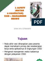 K3 & manajemen Resiko CSSD, Dyah Ayu C, HISSI Jatim.pdf