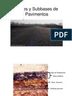 Bases y Subbases de Pavimentos
