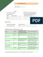 Alkaline Diet SIMPLIFIED! - Sample Journal Entry