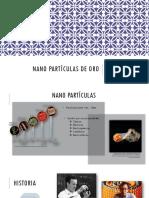 Nanopartículas de Oro