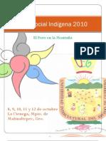 Proyecto Foro Social Indígena 2010