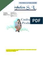 Gama de Productos, Realizados en Escayola Fabricacion_ Hobbybelen, s.l.
