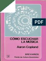 Como escuchar la musica - Aaron Copland.epub