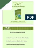 Presentacion Biblia Rv Contemporanea 2010