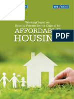 Working Paper - Raising Private Sector Capital for Affordable Housing
