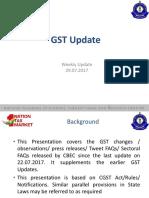 GST Updated  29.07.2017