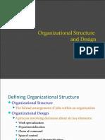 Organisation Structure of en Engineering Firm
