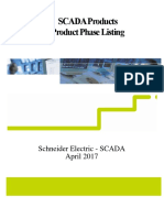 SCADA Lifecycle Phase Listing