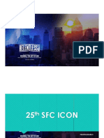 25th SFC ICON Update Final Reminders