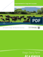 2016 Farm Systems Change Dairy Farm Case Study Otago