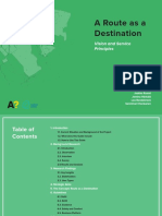 A Route as a Destination - Vision and Service Principles