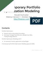 Portfolio Analysis With R.1