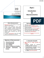 1. Principles of Macroeconomics Econ 109 - What is Macroeconomics-1
