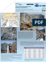 Topographical, Geological and Geophysical Measurements in The