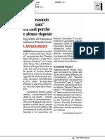 """Un """"Crescendo per Rossini fra tanti perché e alcune risposte"""" - Il Corriere Adriatico del 27 marzo 2018"""