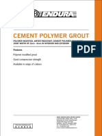 Cement Polymer Grout 8