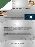 Prof. Poppy Teknik Penulisan Karya Ilmiah Poppy PDF