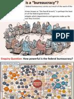 5. Federal Bureaucracy
