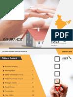 Insurance Report Feb 2018