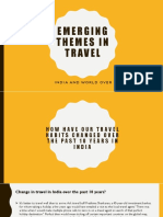 Emerging Themes in Bus Travel