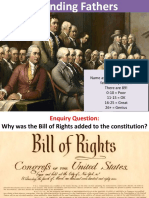 Lesson Bill of Rights