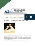 Jill K. Harker Attorney at Law