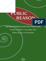 Vol 3 No 2 December 2011 Public Services on the Market Special Issue Edited by Rutger Claassen
